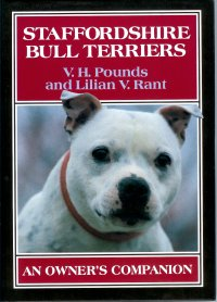Staffordshire Bull Terriers Book by Vic Pounds & Lilian Rant